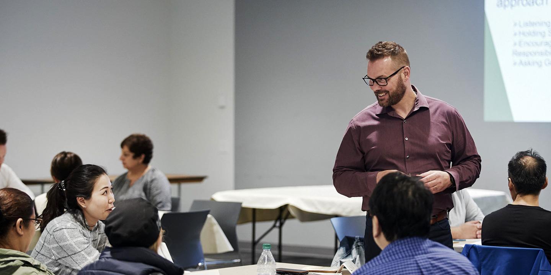 Dave-teaching